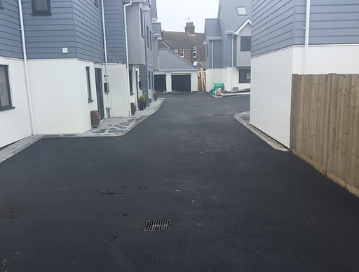 Main Contractor: Bishop and Levett Ltd, New Build Development of 12 Houses in Sutton Mews Seaford